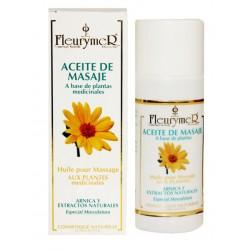 Aceite de masaje a base de plantas medicinales